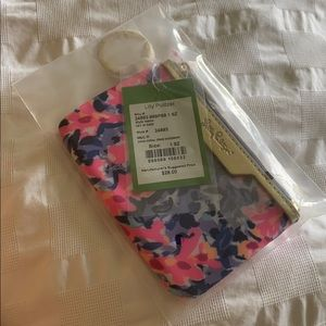Lily Pulitzer wallet on a key ring